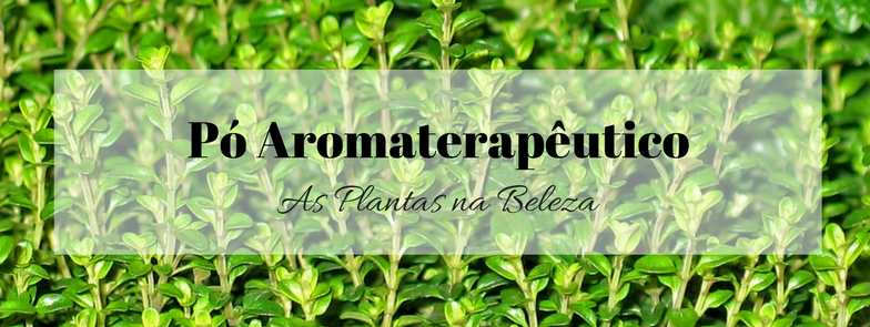 Pó aromaterapêutico