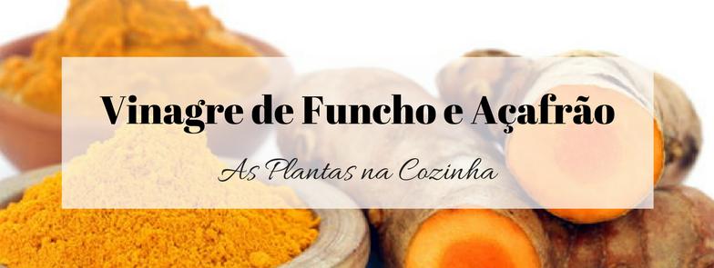 Vinagre de Funcho e Açafrão
