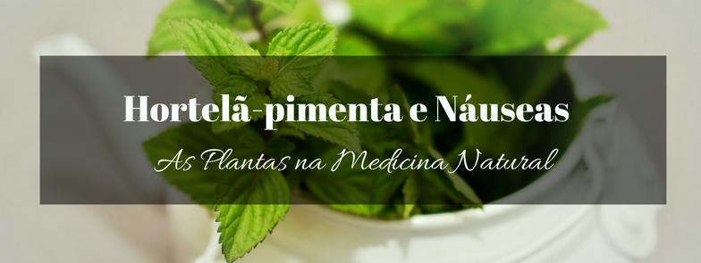 Hortelã-pimenta para Náuseas